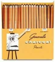 Charcoal Art Class Supply List